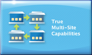 True Multi-site capabilities