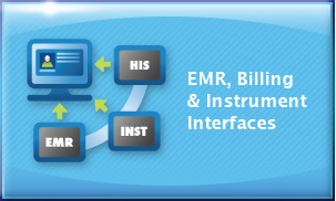 EMR, Billing and instrument interfaces